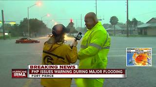 FHP asks drivers stay home, gives update on St. Lucie County flooding - Video