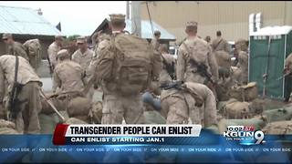 Transgender people free to enlist in US military from 2018 after court ruling - Video