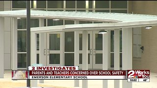 Emerson Elementary parents and teachers concerned over school safety