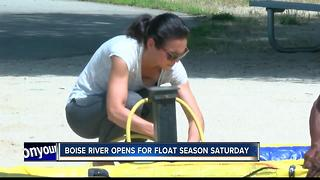 Boise River Float Season Opens - Video