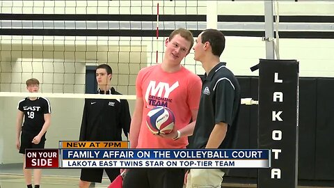Lakota East volleyball is a way of life for the Kuhlman family