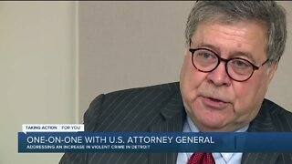Attorney General William Barr talks Operation Legend in Detroit