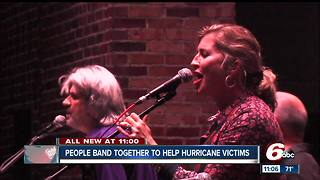 People in Indy band together to help hurricane victims - Video