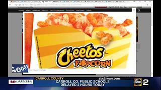 Cheetos popcorn coming to Regal Cinemas in MD - Video