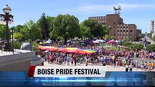 Boise Pride Fest draws crowd and hope for further progress - Video