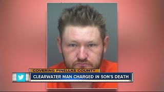 1-year-old drowns in bathtub, Clearwater father charged with Aggravated Manslaughter - Video