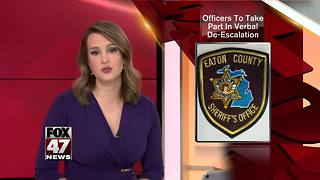 Local police officers to take part in de-escalation training