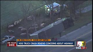 Dearborn County woman raises concerns about Indiana Route 1 after another trucker crash - Video