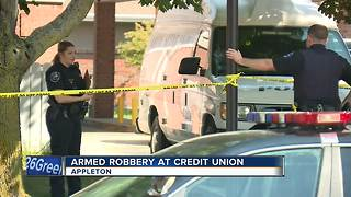 Appleton Police investigating armed robbery at Capital Credit Union - Video