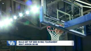 UB secures top seed in MAC Tourney - Video