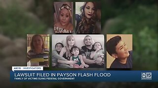 Family files lawsuit against U.S. government after deadly 2017 Payson floods