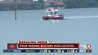 U.S. Coast Guard locates missing boaters off Sanibel Island