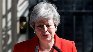 British Prime Minister Theresa May steps down