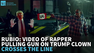 Rubio: Video Of Rapper Pulling Gun On Trump Clown Crosses Line - Video