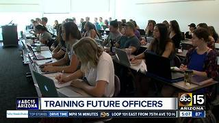 GCU works on training future officers - Video