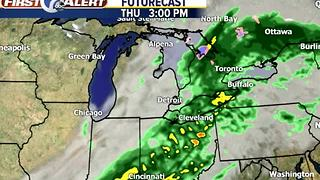 More rain Thursday - Video