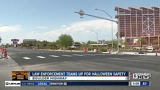Law enforcement stepping up patrols on Boulder Hwy for Halloween
