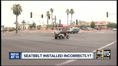 Family blames MCSO for woman's deadly golf cart crash