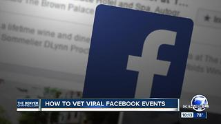 Be wary of these Facebook event scams - and 5 ways to avoid them - Video