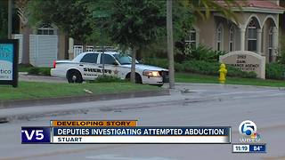 Attempted luring in Martin County - Video