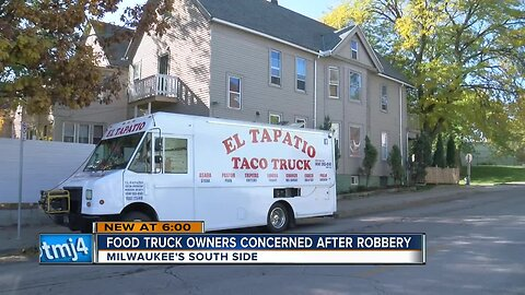 Food truck owners concerned after robbery