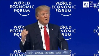 Davos: Trump Just Made His America First Message Loud and Clear to the World (C3) - Video