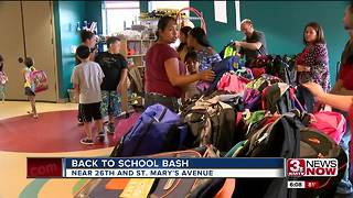 Back to school bash gives away 500 backpacks - Video