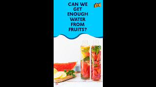 Top 3 Healthy Fruits With The Highest Water Content *