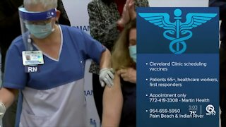 Cleveland Clinic Florida to begin COVID-19 vaccinations