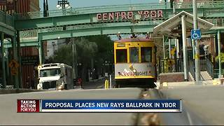 Proposal places new Rays ballpark in Ybor - Video