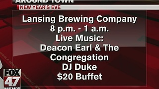 Around Town 12/19/16: Ring in the new year at Lansing Brewing Company - Video
