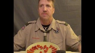 Man Eats 23 Ghost Peppers to Raise Money for Scout Troop - Video