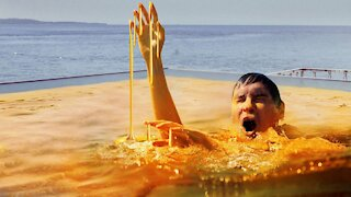What If You Jumped Into a Pool Full of Honey?