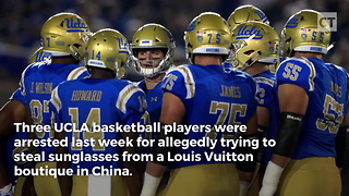 UCLA Players Released After Trump Intervenes - Video