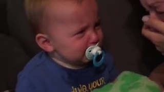Toddler Makes A Wicked Impression Of Mommy Crying - Video