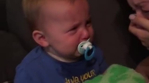 Toddler Makes A Wicked Impression Of Mommy Crying