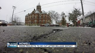 Howell city leaders warn community cuts in service & road projects coming - Video