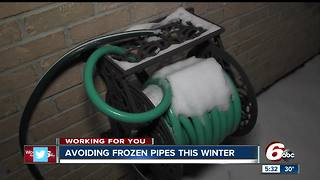 How to avoid frozen pipes this winter - Video
