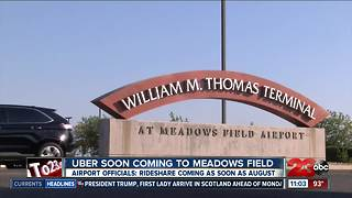 Uber soon coming to Meadow Field Airport
