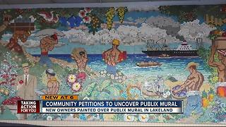 Historic Lakeland mural to be restored - Video