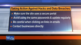Taking action against hacks and data breaches