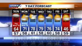 Meteorologist Jesse Ritka's Saturday evening Storm Team 4cast - Video