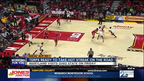 Cowan, Terps ready to take hot streak on the road