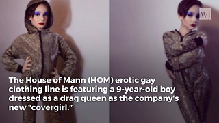 LGBT Clothing Designer Caught Exploiting 9-Year-Old Boy - Video