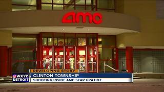 1 in critical after shooting inside AMC in Clinton Township