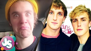 Did Justin Bieber Just SHADE Jake & Logan Paul in His Vlog? -JS - Video