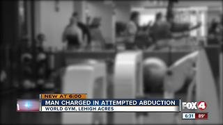Man tries abducting woman, threatens to shoot her at gym - Video