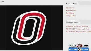 UNO officials respond to series of hate crimes - Video