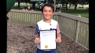 St. Lucie County boy recognized for speaking out about bullying