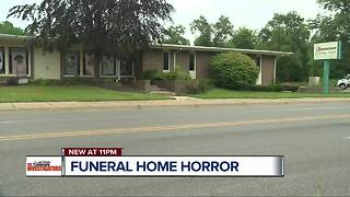 State of Michigan long-aware of horrific complaints at Flint funeral home - Video